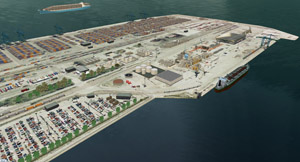Infrastructure critique portuaire
